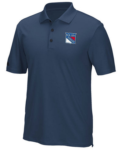 adidas Men's New York Rangers Power Play Primary Polo