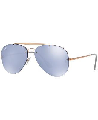 Ray Ban Sunglasses Rb3584n Blaze Aviator Mirror Sunglasses By