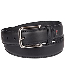 Men's Big & Tall Casual Leather Belt