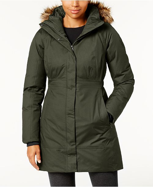 The North Face Women's Arctic Faux-Fur-Trimmed Parka III