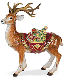 Fitz and Floyd Renaissance Holiday Deer Figurine