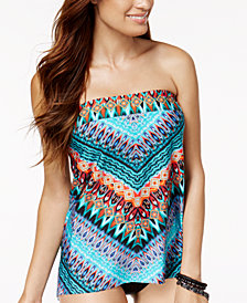 Miraclesuit Casbah Underwire Bandeau Tankini Top