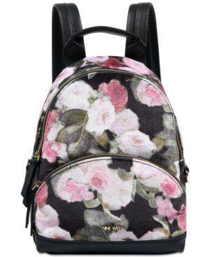 Nine West Taren Velvet Backpack 5229565
