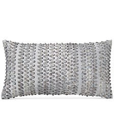 "Hotel Collection Diamond Stripe 14"" x 24"" Decorative Pillow"
