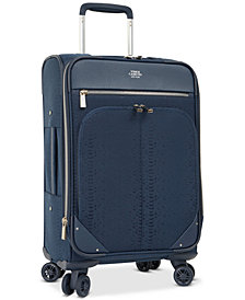 "CLOSEOUT! Vince Camuto Ameliah 20"" Softside Expandable Carry-On Spinner Suitcase"