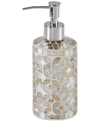 JLA Home Cape Mosaic Bath Accessories, Created for Macy\'s - Bathroom ...