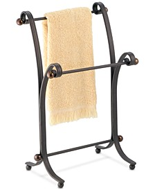 York Split Bronze Fingertip Towel Stand