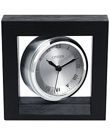 Citizen Decorative Accent Silver-Tone Clock