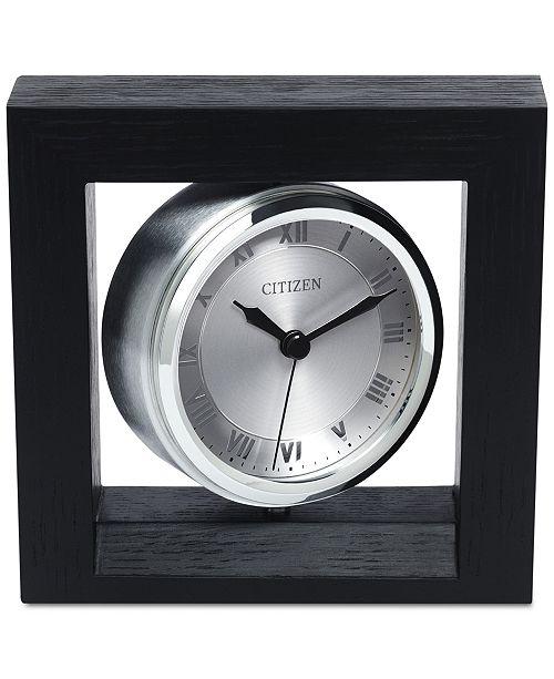 Citizen Decorative Accent Silver-Tone Clock