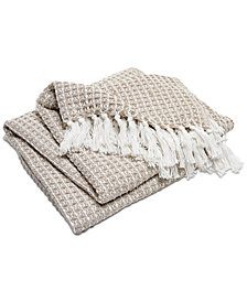 Hotel Collection Cotton Knit Throw, Created for Macy's