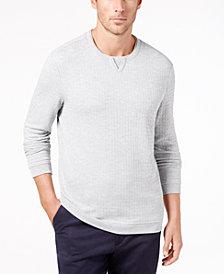 Tasso Elba Men's Geometric Jacquard T-Shirt, Created for Macy's