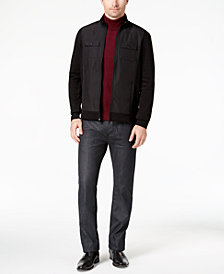 Alfani Men's Trucker Jacket & Diamond-Print Turtleneck, Created for Macy's