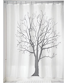 "Interdesign Botanical Tree 72"" x 72"" Shower Curtain"