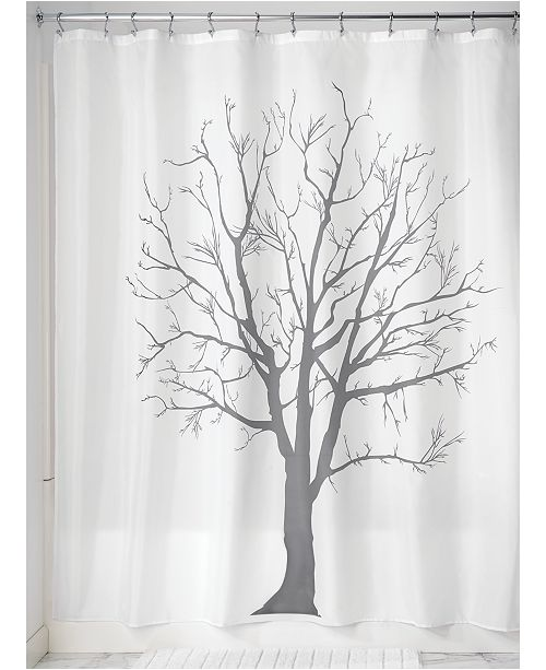 Interdesign Botanical Tree 72 X Shower Curtain