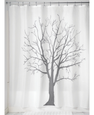 Interdesign Botanical Tree 72 x 72 Shower Curtain Bedding
