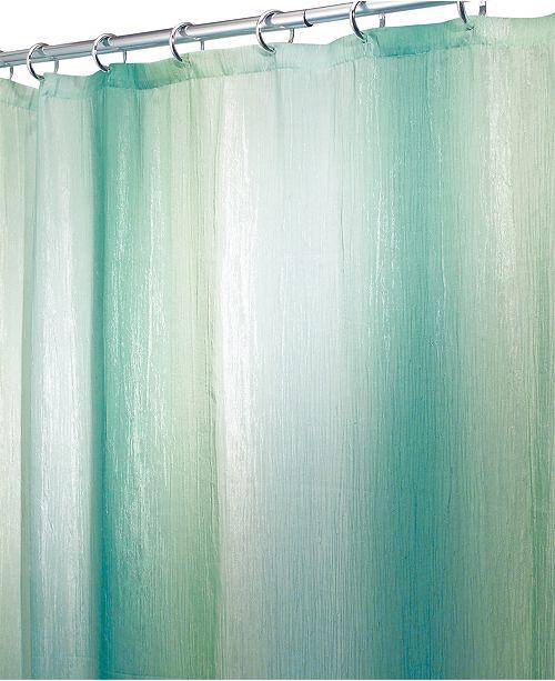 Interdesign Ombré Textured 54 X 78 Shower Curtain Shower