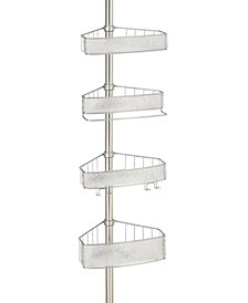 Interdesign Rain 4-Tier Tension Shower Caddy