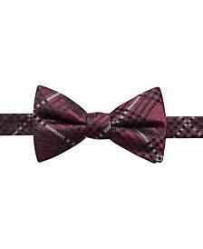 Ryan Seacrest Distinction™ Men's Studio Plaid Pre-Tied Silk Bow Tie, Created for Macy's