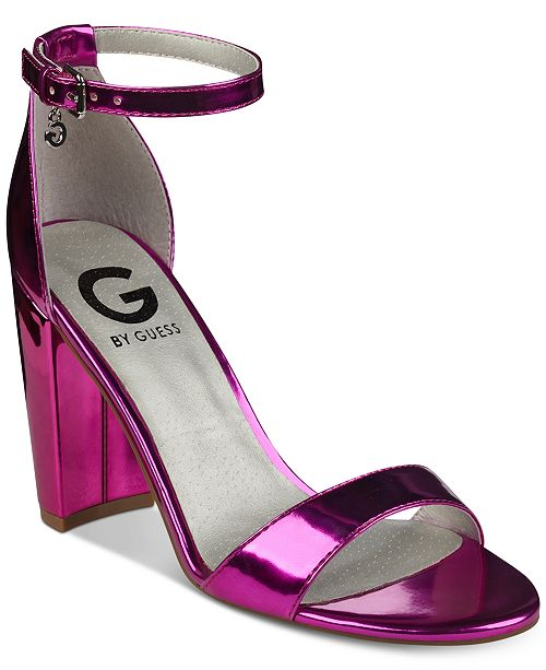 30c2f943e6f8 G by GUESS Shantel Two-Piece Sandals   Reviews - Sandals   Flip ...