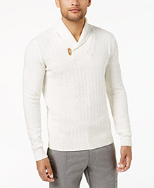 Sean John Men's Shawl-Collar Sweater, Created for Macy's