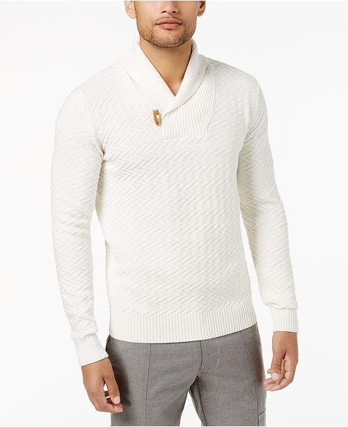ba4e78a0205b ... Sean John Men s Shawl-Collar Sweater