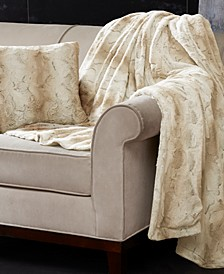 "Zuri Reversible 60"" x 70"" Faux-Fur Throw"