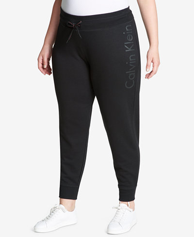 Calvin Klein Performance Plus Size Jogger Pants