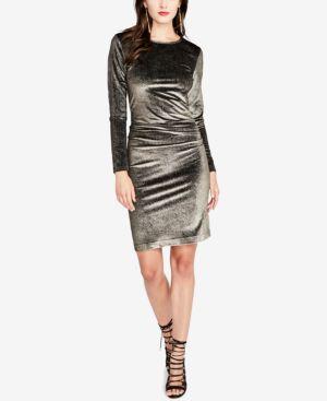 Rachel Rachel Roy Velvet Bodycon Dress