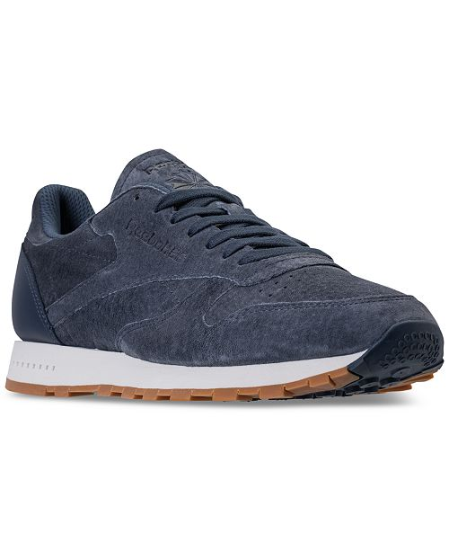 46491a53e05b1 Reebok Men s Classic Leather SG Casual Sneakers from Finish Line ...