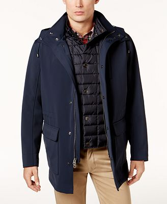 Brooks Brothers Red Fleece Men's Soft-Shell Parka