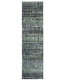 "Oriental Weavers Atlas Shades 2'3"" x 8' Runner Area Rug"