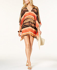 Carmen Marc Valvo Pacific Sunset Caftan Cover-Up