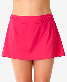 Anne Cole Plus Size Swim Skirt Bottoms