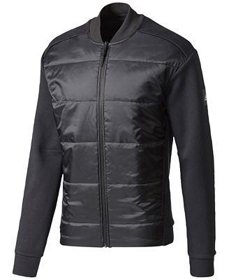 adidas Men's Hybrid Bomber Jacket