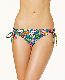 Jessica Simpson Eden Side-Tie Bikini Bottoms
