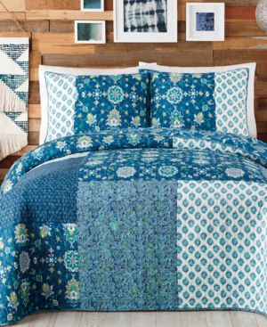 Jessican Simpson Murano Glass Cotton King Quilt 5343144
