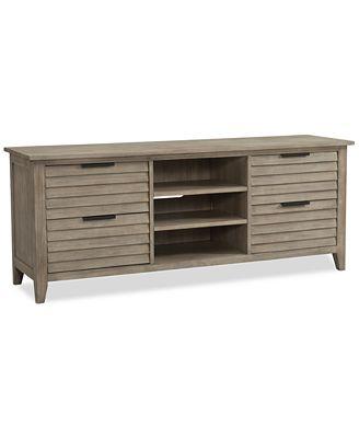 Furniture Kips Bay Tv Stand Created For Macy S Furniture Macy S