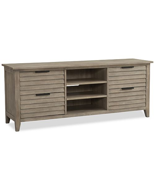 Furniture Kips Bay Tv Stand Created For Macy S Furniture Macy S