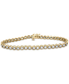 Diamond Miracle Link Bracelet (2 ct. t.w.)