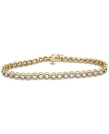 Diamond Miracle Link Bracelet (2 ct. t.w.) in 14k gold (Also available in 14k White Gold or 14k Rose Gold)