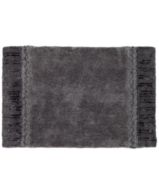 "Braided Medallion Cotton 20"" x 30"" Colorblocked Bath Rug"