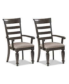 Nadeen Armchair (Set Of 2), Quick Ship
