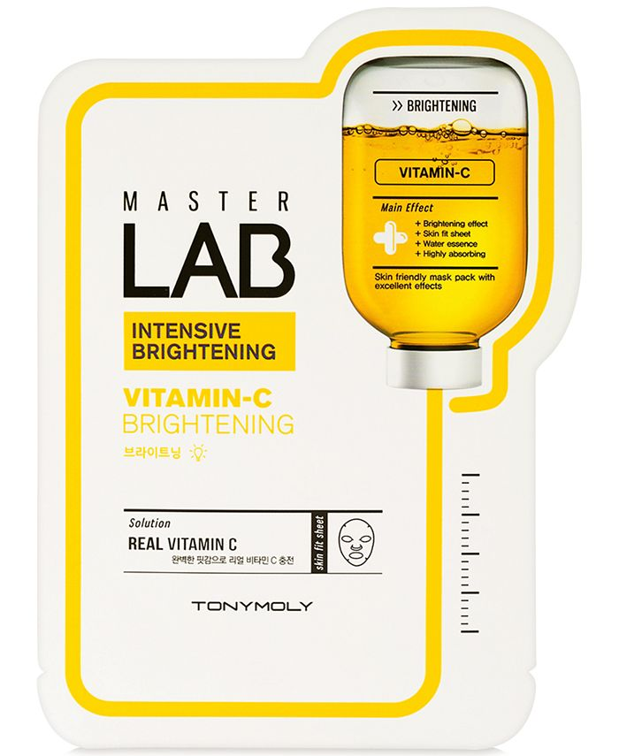 TONYMOLY - MasterLabVitamin C Brightening Sheet Mask