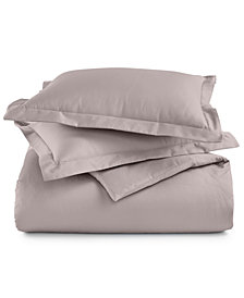 CLOSEOUT! AQ Textiles Devon 3-Pc. King Duvet Set, 900-Thread Count, Created for Macy's