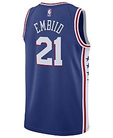 3a3b72c67 Nike Men s Ben Simmons Philadelphia 76ers Icon Swingman Jersey ...