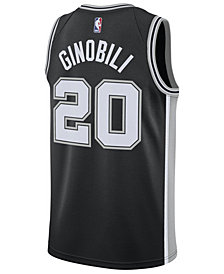 Nike Men's Manu Ginobili San Antonio Spurs Icon Swingman Jersey