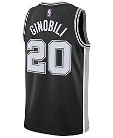Nike Men's Manu Ginobili San Antonio Spurs Icon Swingman Jersey