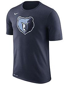 Nike Men's Memphis Grizzlies Dri-FIT Cotton Logo T-Shirt