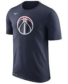 Nike Men's Washington Wizards Dri-FIT Cotton Logo T-Shirt