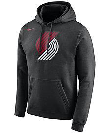Nike Men's Portland Trail Blazers Logo Club Hoodie